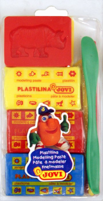 Иллюстрация 1 из 11 для Набор для лепки: пластилин, 2 односторонние формы, 3 стека (32)   Лабиринт - игрушки. Источник: Лабиринт