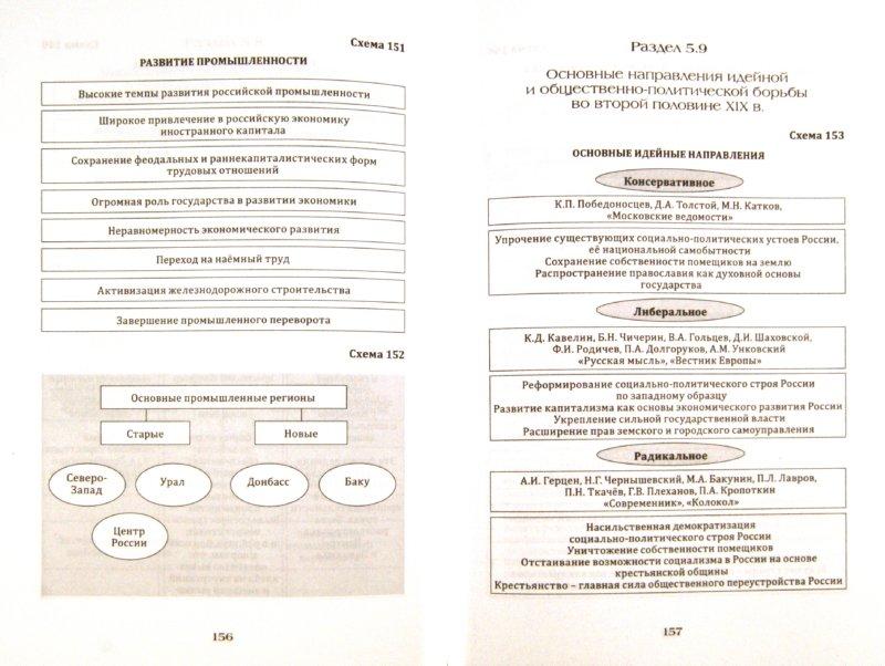 схемах, таблицах и картах.