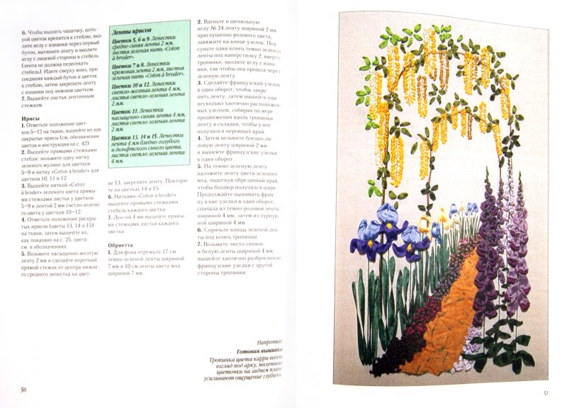 Иллюстрация 1 из 15 для Искусство вышивания шелковыми лентами. Цветочные мотивы - Энн Кокс | Лабиринт - книги. Источник: Лабиринт