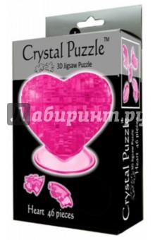 Головоломка СЕРДЦЕ красное (90012)Головоломки<br>Трехмерная 3D головоломка СЕРДЦЕ от CRYSTAL PUZZLE. Из деталей головоломки вы сможете собрать красивое сердце и установить его на подставку.<br>Количество деталей: 46.<br>Инструкция внутри.<br>Сделано из пластика.<br>Рекомендуемый возраст: от 14 лет.<br>Упаковка: блистер.<br>Сделано в Китае.<br>