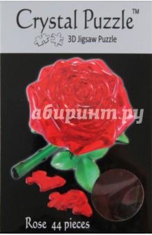 3D головоломка РОЗА КРАСНАЯ (90113)Головоломки<br>Трехмерная 3D головоломка РОЗА от CRYSTAL PUZZLE. Когда вы ее соберете из 44 деталей, это будет красивая и нежная роза.<br>Инструкция внутри.<br>Сделано из пластика.<br>Рекомендуемый возраст: от 14 лет.<br>Упаковка: блистер.<br>Сделано в Китае.<br>