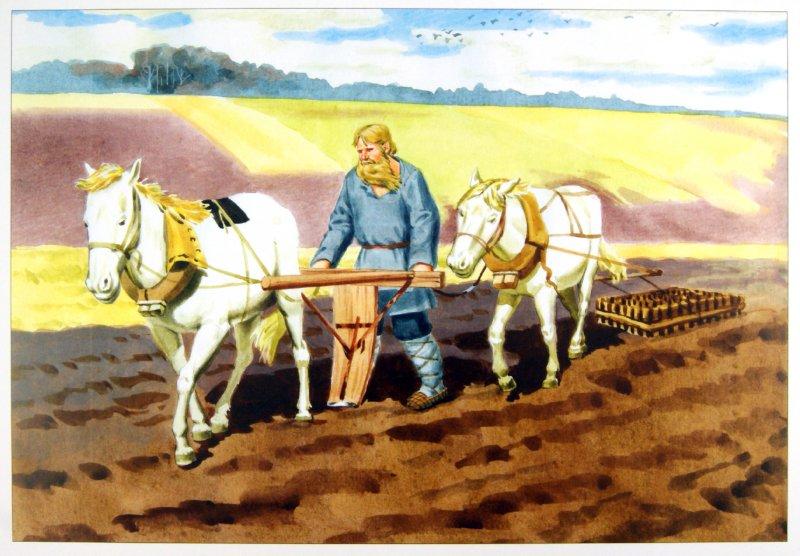 Иллюстрация 1 из 21 для Как наши предки выращивали хлеб. Наглядно-дидактическое пособие - Э. Емельянова | Лабиринт - книги. Источник: Лабиринт