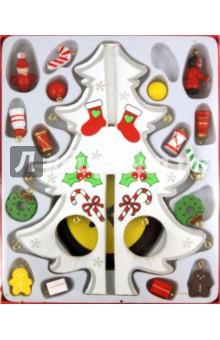 """Украшение новогоднее деревянное """"Белая елка"""" (17300)"""