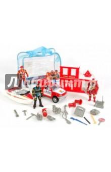 Набор 911-97D Пожарная станция в сумке 1 // CityToys - детские игрушки...
