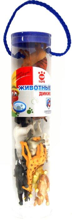 """Иллюстрация 1 из 5 для Набор """"Диких животных"""" 12 штук в тубе (GT4508)   Лабиринт - игрушки. Источник: Лабиринт"""