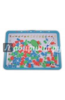 "Доска магнитная ""Моя первая азбука"" с набором букв и цифр (+ маркер) (0187А)"