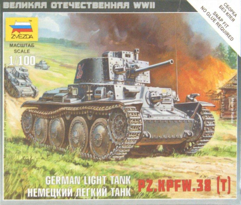 Иллюстрация 1 из 12 для Немецкий легкий танк PZ.KPFW.38 (T) (6130)   Лабиринт - игрушки. Источник: Лабиринт