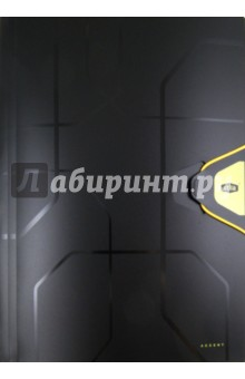 Папка на резинке А4, желтая резинка (80381)