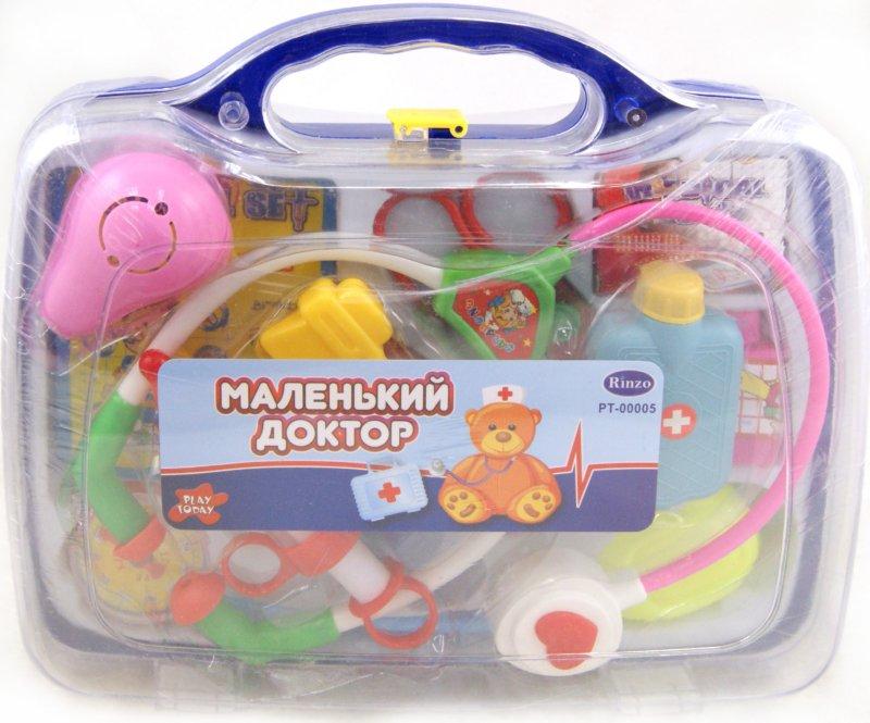 """Иллюстрация 1 из 3 для Набор """"Доктор"""" в чемодане (РТ-00005(D6601j))   Лабиринт - игрушки. Источник: Лабиринт"""