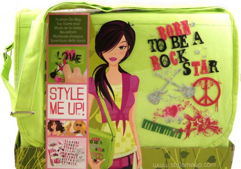 """из 1 для.  1. игрушки Набор  """"Укрась школьную сумку """", зеленая (913)."""