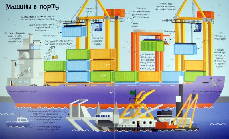 Иллюстрация 1 из 7 для Большая книга о больших машинах. Для детей от 4 лет | Лабиринт - книги. Источник: Лабиринт