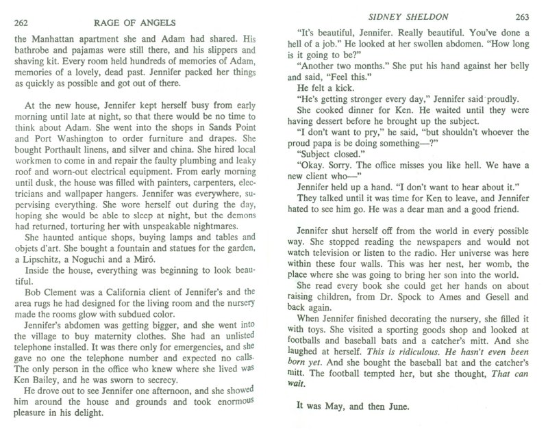 Иллюстрация 1 из 9 для Rage of Angels - Sidney Sheldon | Лабиринт - книги. Источник: Лабиринт