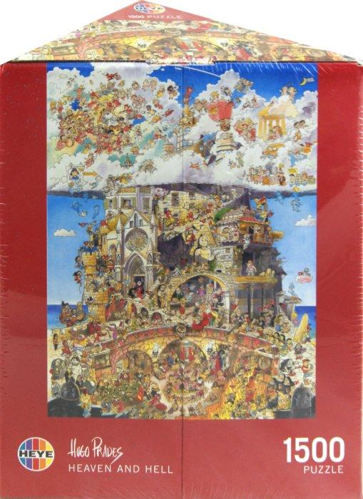 """Иллюстрация 1 из 13 для Puzzle-1500 """"Рай и Ад"""", Prades (29118)   Лабиринт - игрушки. Источник: Лабиринт"""
