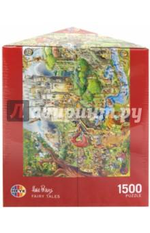 Puzzle-1500 Сказки, Prades (29414)Пазлы (1500 элементов)<br>Пазл-мозаика. <br>Состоит из 1500 элементов.<br>Размер картинки: 80х60 см.<br>Правила игры: вскрыть упаковку и собрать игру по картинке.<br>Не давать детям до 3-х лет из-за наличия мелких деталей.<br>Материал: картон<br>Упаковка: картонная треугольная коробка.<br>Сделано в Германии.<br>