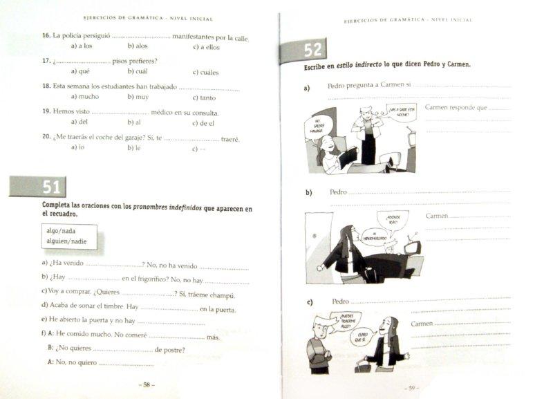 Иллюстрация 1 из 7 для Ejercicios de gramatica. Nivel Inicial - Josefa Garcia | Лабиринт - книги. Источник: Лабиринт