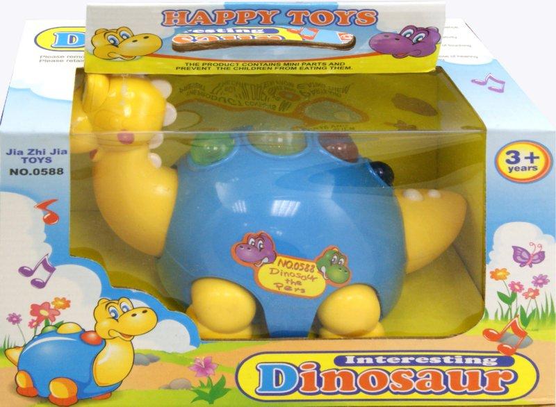 Иллюстрация 1 из 6 для Динозаврик электромеханический (0588) | Лабиринт - игрушки. Источник: Лабиринт