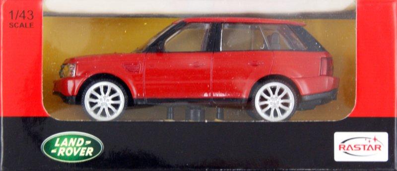 Иллюстрация 1 из 2 для Машина Range Rover Sport металлическая 1:43 (36600)   Лабиринт - игрушки. Источник: Лабиринт