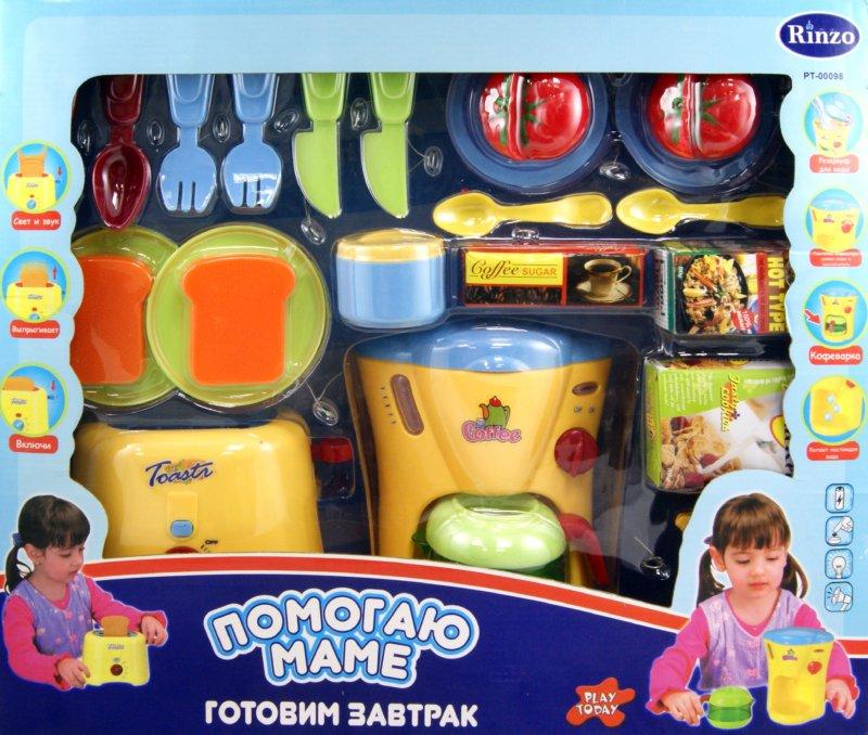 """Иллюстрация 1 из 9 для Набор """"Готовим завтрак"""" Помогаю Маме PT-00098 (08039)   Лабиринт - игрушки. Источник: Лабиринт"""