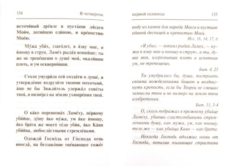 Иллюстрация 1 из 14 для Великий канон: Творение святого преподобного Андрея Критского | Лабиринт - книги. Источник: Лабиринт