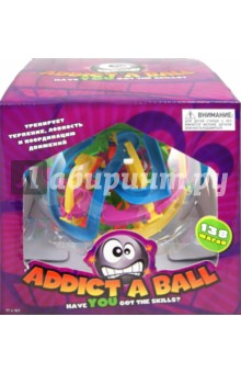 Настольная игра Addict a Ball большой. Шар-головоломка (138 шагов)