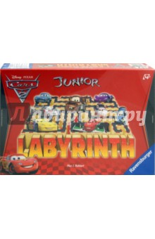 Настольная игра Лабиринт Джуниор Тачки