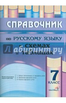Русский язык. 7 класс. Справочник в схемах и таблицах