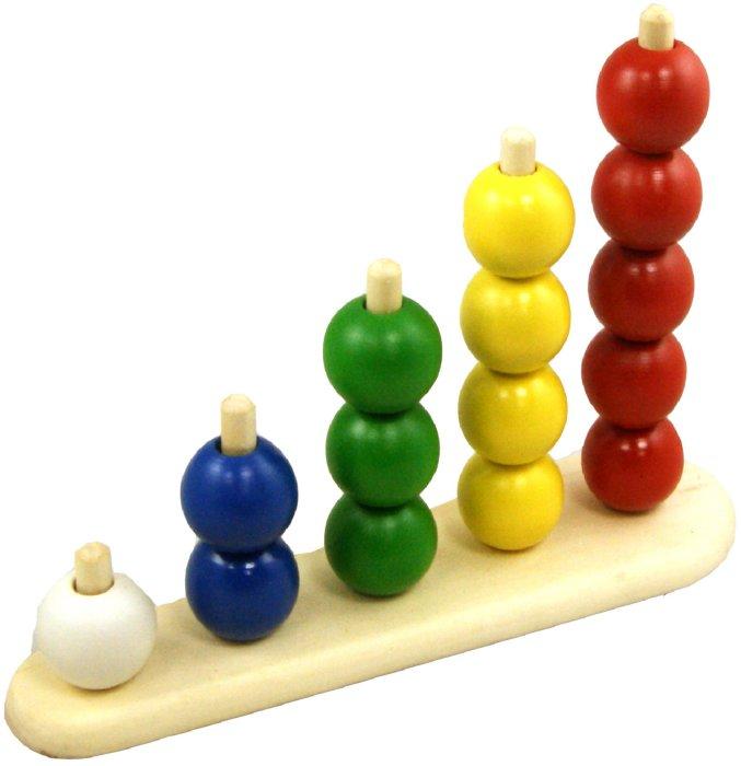 Иллюстрация 1 из 7 для Пирамидка Абака с шариками (Д-296) | Лабиринт - игрушки. Источник: Лабиринт