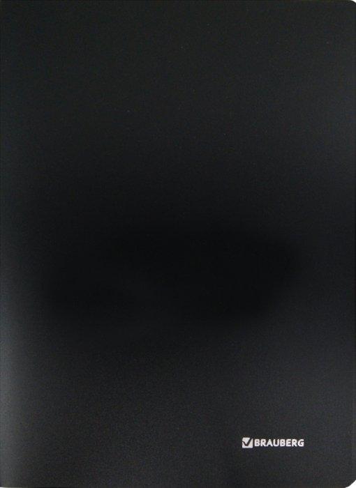 Иллюстрация 1 из 3 для Папка с пластиковым скоросшивателем, черная (222645) | Лабиринт - канцтовы. Источник: Лабиринт