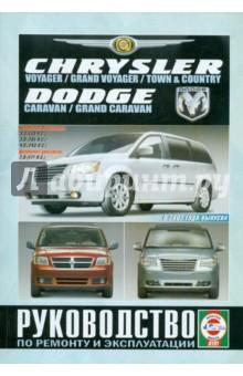Chrysler Voyager/Grand Voyager/Town/County. Dodge Caravan/Grand Caravan. Рук-во по ремонту и экспл.