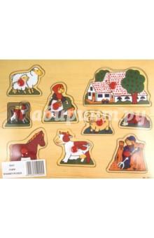 Пазл деревянный Окружающий мир (D21С)Сборные 2D модели и картинки из дерева<br>Развивающая деревянная игрушка.<br>Пазл - картинки на деревянной основе. Развивает в ребенке умение составлять из частей целое (анализ и синтез), развивает логическое и образное мышление, мелкую моторику рук, знакомит с размером.<br>Выполнен из экологически чистой древесины.<br>Для детей от 3-х лет.<br>Сделано в Китае.<br>