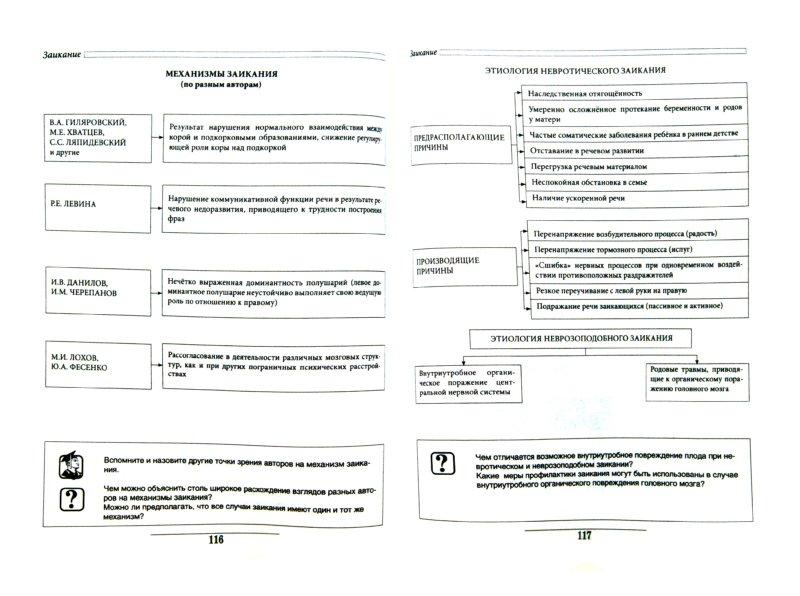 таблицах и схемах:Учебное