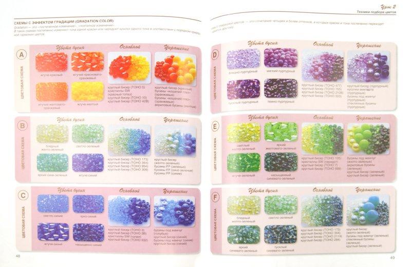Сочетаемые цвета в бисере