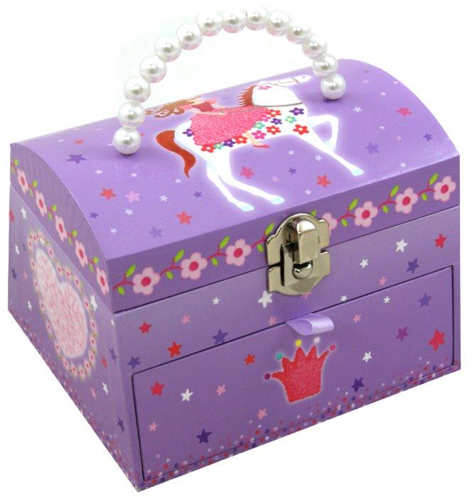 """Иллюстрация 1 из 3 для Шкатулка музыкальная """"Принцесса на коне"""" (624000)   Лабиринт - игрушки. Источник: Лабиринт"""
