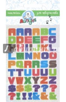 """Наклейки детские """"Английский Алфавит"""" (ZL001)"""