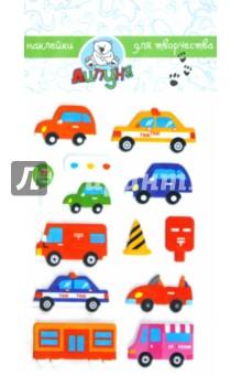 "Наклейки детские ""Машинки"" (ZF001)"
