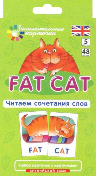 Иллюстрация 1 из 23 для Английский язык. Толстый кот (Fat Cat). Читаем сочетания слов. Level 5. Набор карточек - Татьяна Клементьева | Лабиринт - книги. Источник: Лабиринт