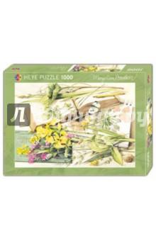 """ФОТО puzzle-1000 """"Цветы в журнале"""" bastin (29450)"""
