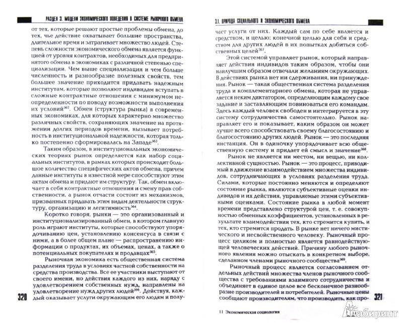 Иллюстрация 1 из 10 для Экономическая социология. Учебное пособие для вузов | Лабиринт - книги. Источник: Лабиринт