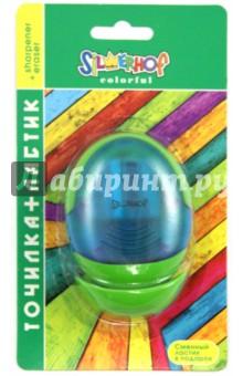 """Точилка """"Colorful"""": 2 отверстия для карандашей разного диаметра, с контейнером (191012-03) Silwerhof"""