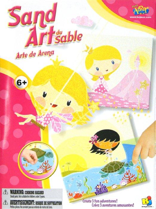 Иллюстрация 1 из 2 для Роспись песком (для девочек) (13710) | Лабиринт - игрушки. Источник: Лабиринт