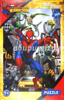 Step Puzzle-360. Человек-паук (96011)