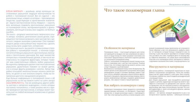 Иллюстрация 1 из 3 для Украшения и аксессуары из полимерной глины своими руками - Елена Марунич | Лабиринт - книги. Источник: Лабиринт