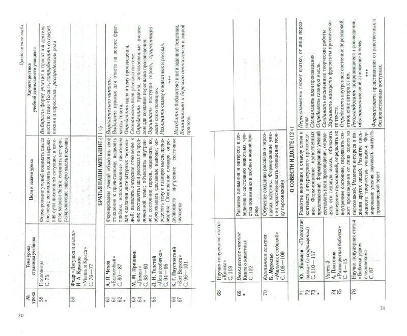 """Иллюстрация 1 из 6 для Обучение в 3 классе по учебнику """"Литературное чтение"""". Программа, тематическое планирование, метод. - Элла Кац   Лабиринт - книги. Источник: Лабиринт"""