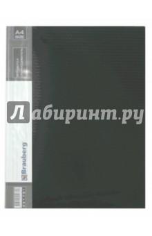 "Папка на 30 вкладышей ""Contract"" черная, 0,7 мм (221893) от Лабиринт"