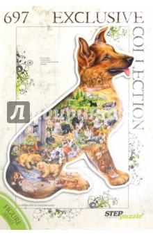 "Step Puzzle-697""Собака"" (контур-пазл) (83503)"