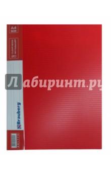 """Папка на 30 вкладышей """"Contract"""" красная (221891)"""