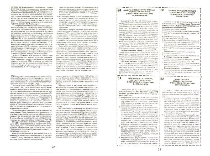 Иллюстрация 1 из 4 для Шпаргалка по оперативно-розыскной деятельности | Лабиринт - книги. Источник: Лабиринт