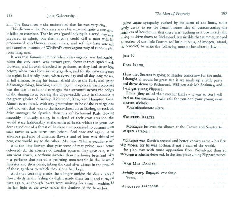 Иллюстрация 1 из 2 для Forsyte Saga: The Man of Property - John Galsworthy   Лабиринт - книги. Источник: Лабиринт