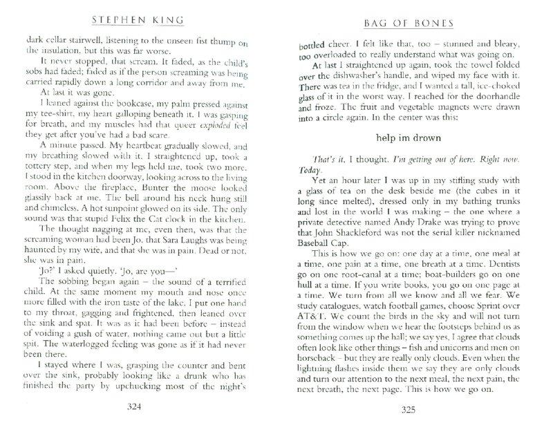 Иллюстрация 1 из 10 для Bag of Bones - Stephen King | Лабиринт - книги. Источник: Лабиринт