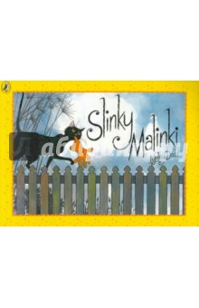 Slinky MalinkiИзучение иностранного языка<br>Slinky Malinki steals anything from a clothes peg, to a slipper, to a string of sausages, to a clock! Our hero is a BAD cat! The story is told in wonderful rhyme and through pictures full of life and movement.<br>